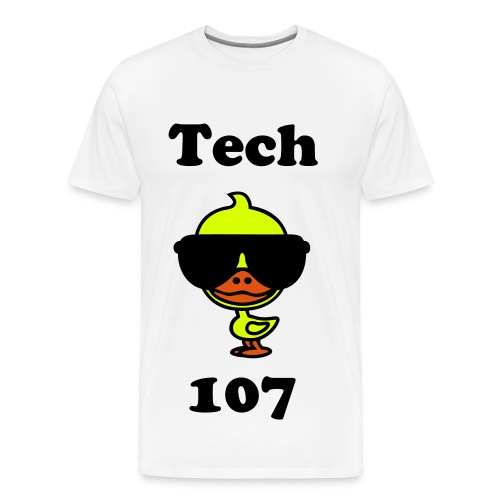 Tech Duck 107 - Men's Premium T-Shirt
