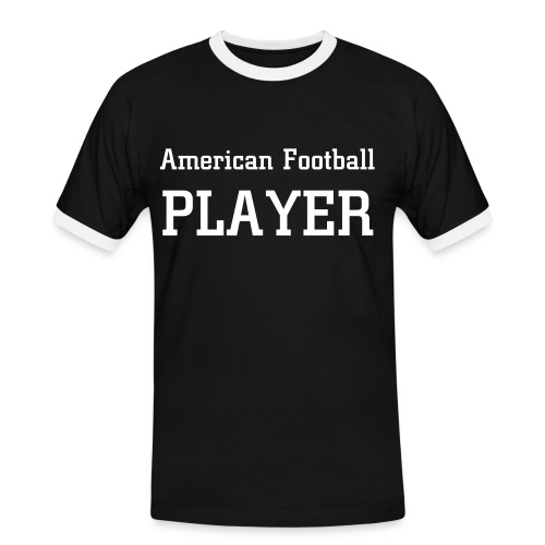 Football player - Mannen contrastshirt