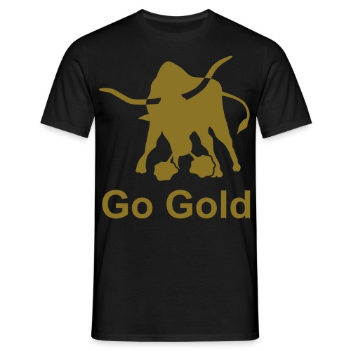 Go Gold - Bull - Men's T-Shirt