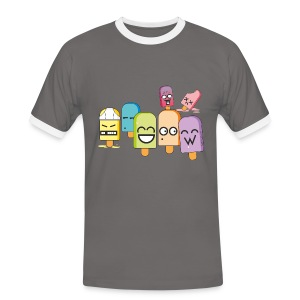 Funny Popsicles T-Shirt #3 - Men's Ringer Shirt