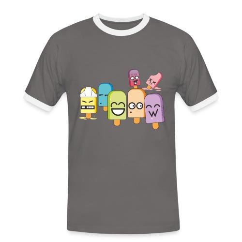 Funny Popsicles T-Shirt #3 - Men's Ringer Shirt