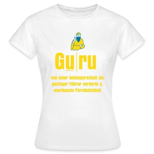 Damenshirt - Guru - Frauen T-Shirt