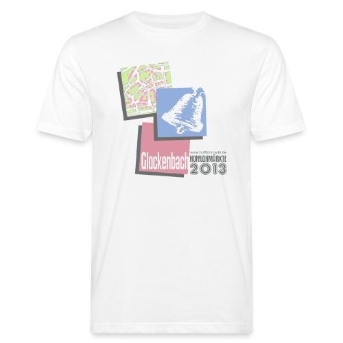 Herren T-Shirt Glockenbach Hofflohmärkte 2013 - Männer Bio-T-Shirt