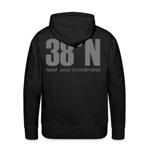 38 grey hoodie - Men's Premium Hoodie