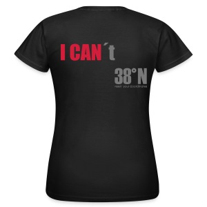 I can back t - Women's T-Shirt