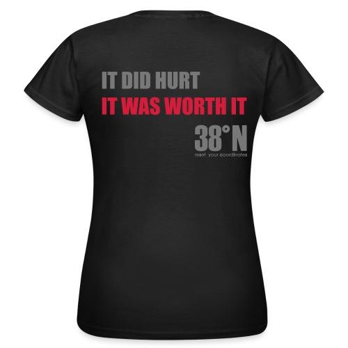 worth it back t - Women's T-Shirt