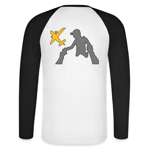 Tee-shirt baseball manches longues - exit - T-shirt baseball manches longues Homme