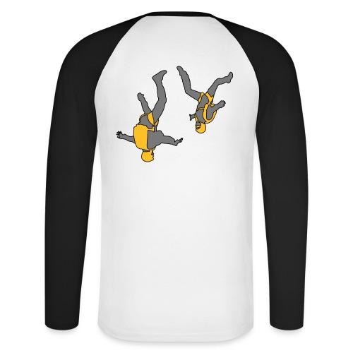 Tee-shirt baseball manches longues - freefly 1 - T-shirt baseball manches longues Homme