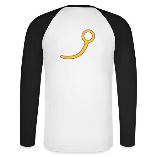 Tee-shirt baseball manches longues - aiguille ARR - T-shirt baseball manches longues Homme