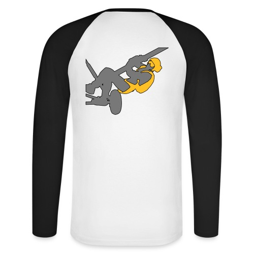 Tee-shirt baseball manches longues - hauban - T-shirt baseball manches longues Homme