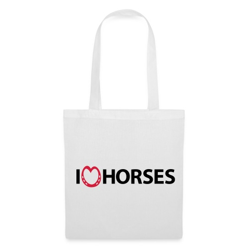 I Heart Horses Tote Bag - Tote Bag