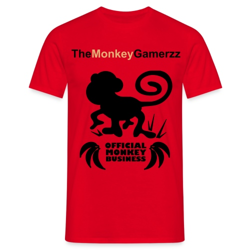 TheMonkeyGamerzz - Men's T-Shirt