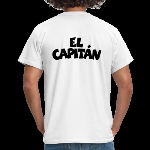 El Capitan T-Shirt (Weiß/Rücken) - Männer T-Shirt