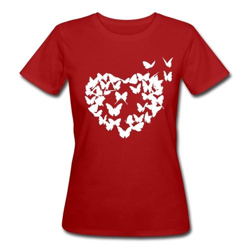 Frauen Bio-T-Shirt - Shirt,Liebe,Herz