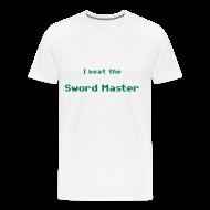 Camisetas ~ Camiseta premium hombre ~ I beat the sword master