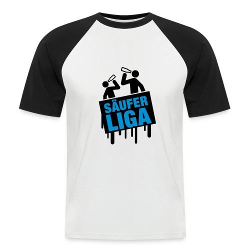 Männer Baseball-T-Shirt - Säufer Liga,Sprüche,Coole sprüche,Cool
