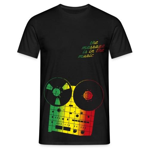 the message - Männer T-Shirt