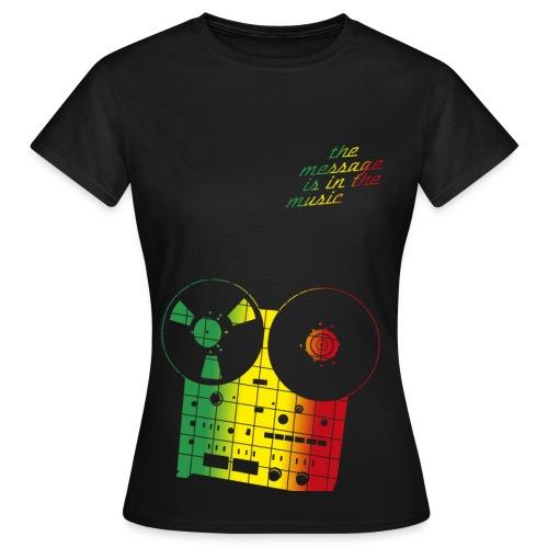 the message - Frauen T-Shirt