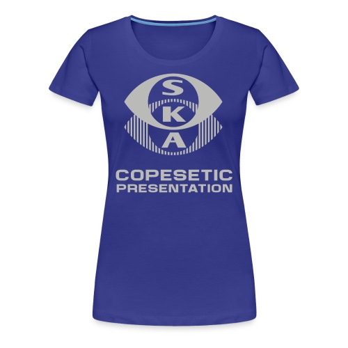 SKA - Copesetic presentation - Women's Premium T-Shirt