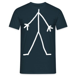 Stick Man - Men's T-Shirt