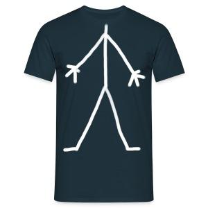 Stick Man - Men's T-Shirt