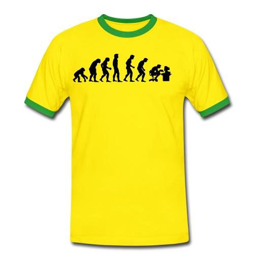 noobGodWorks - Maglietta Contrast da uomo