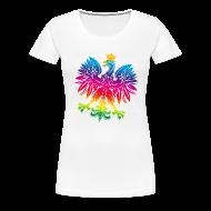 T-Shirts ~ Women's Premium T-Shirt ~ Rainbow eagle 2 - tęczowy orzeł 2