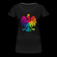 T-Shirts ~ Women's Premium T-Shirt ~ Rainbow eagle 3 - tęczowy orzeł 3