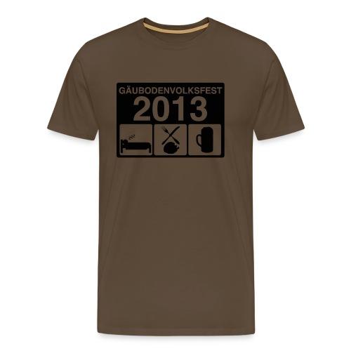 TAGESABLAUF 3 - Männer Premium T-Shirt