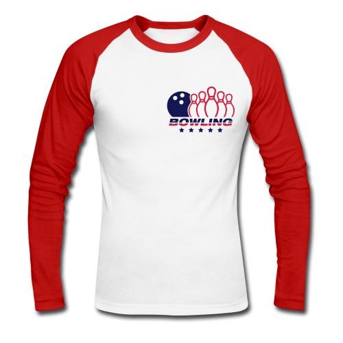 Tshirt Bowling  - T-shirt baseball manches longues Homme