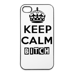 KEEP CALM BITCH iPhone4/4s Hardcase - iPhone 4/4s Hard Case