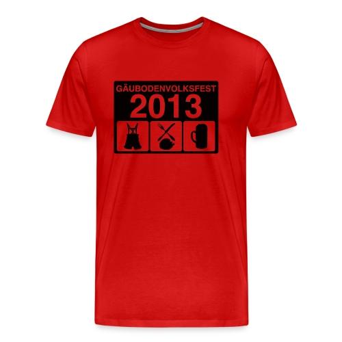 TAGESABLAUF 2 - Männer Premium T-Shirt