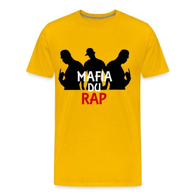 T shirt homme mafia du rap