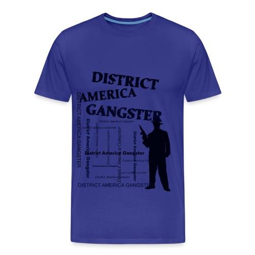 T shirt homme district america gangster - T-shirt Premium Homme