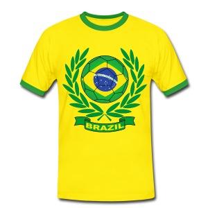 Brazil - Brésil - Men's Ringer Shirt