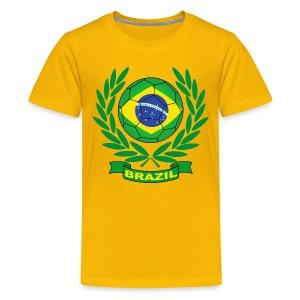 Brazil - Brésil - Teenage Premium T-Shirt