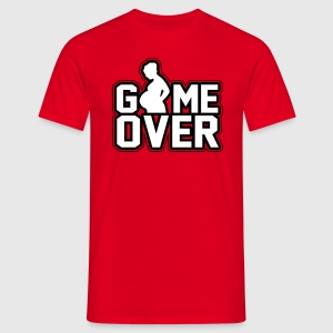 Pregnant - Game Over T-shirts - Herre-T-shirt