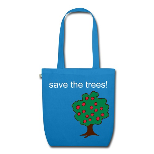 save the trees bag - EarthPositive Tote Bag