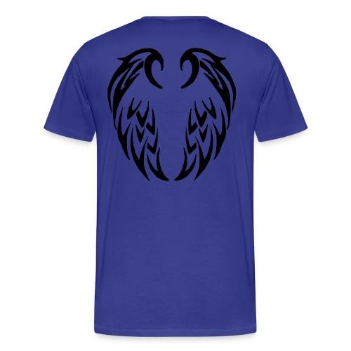 T shirt homme ailes tribales - T-shirt Premium Homme