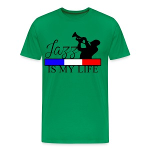 T shirt homme jazz is my life - T-shirt Premium Homme