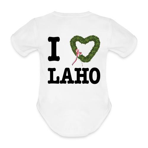I love Landshuter Hochzeit - Baby Bio-Kurzarm-Body