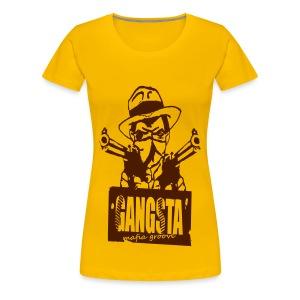 T shirt femme gangster - T-shirt Premium Femme