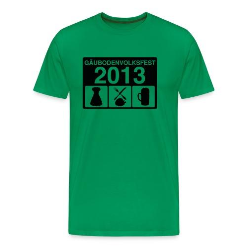 TAGESABLAUF - Männer Premium T-Shirt