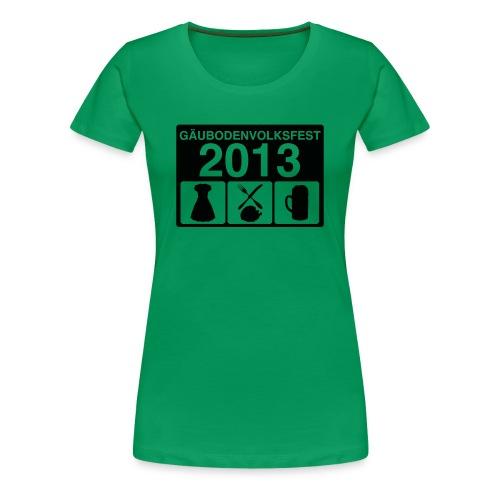 TAGESABLAUF - Frauen Premium T-Shirt