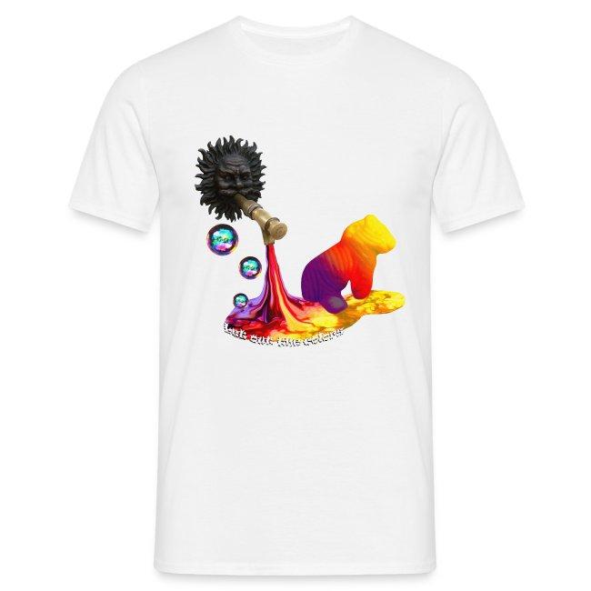 Let out the colors, t-shirt