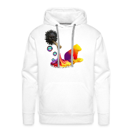 Sweatshirts ~ Herre Premium hættetrøje ~ Let out the colors, sweatshirt
