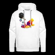 Sweatshirts ~ Herre Premium hættetrøje ~ Let out the colors, sweatshirt
