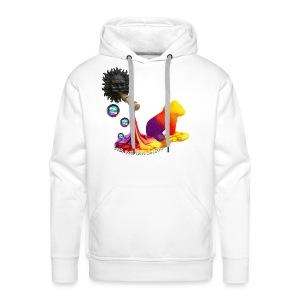 Let out the colors, sweatshirt - Herre Premium hættetrøje