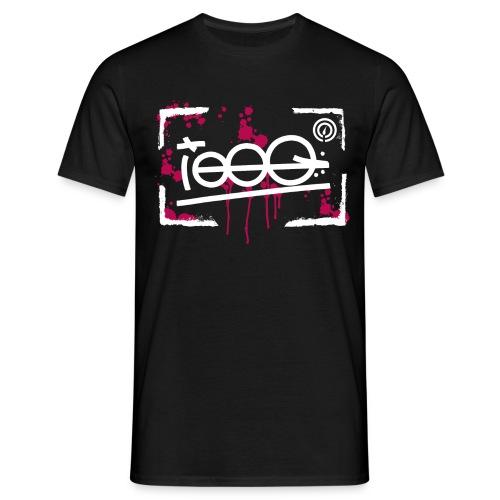 splatterframe - Männer T-Shirt