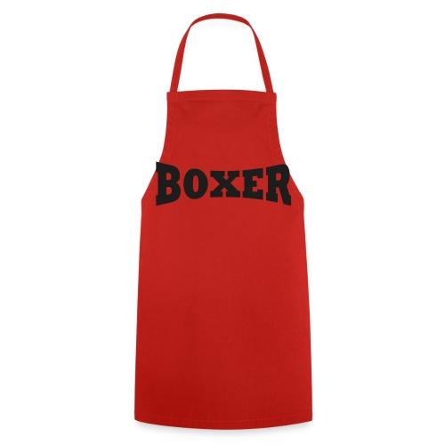 Boxer Schriftzug - Kochschürze